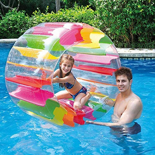 Juweishangmao Inflatable Pool Water Floating Ride Ball Kids Toys for Summer Beach Themed Party by Juweishangmao (Image #2)