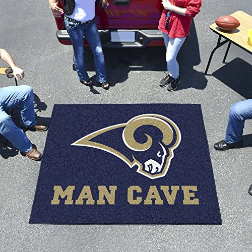 Nfl - St. Louis Rams Man Cave Tailgater Rug 60''X72'' by Fanmats