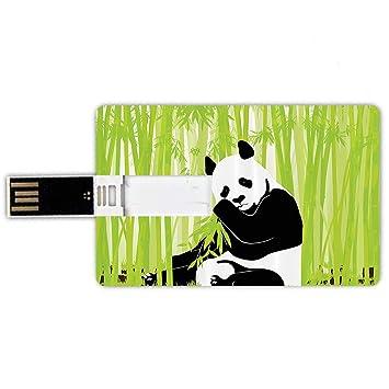 8GB Forma de tarjeta de crédito de unidades flash USB Conjunto de ...