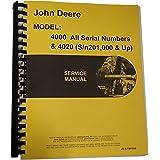 John Deere 4000 Series 4020 4010 Tractors Technical Service Manual. New Service Manual For John Deere Tractor 4020. John Deere. John Deere Lv4010 Wiring Schematic At Scoala.co