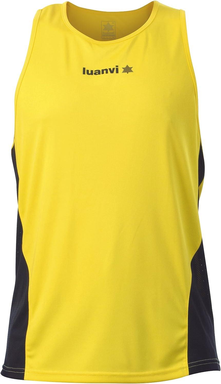 Luanvi Race Camiseta de Running, Hombre: Amazon.es: Ropa y accesorios