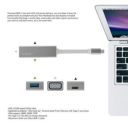 Lid iwee Multi Puerto USB de c, usb hub USB de conector con HDMI ...