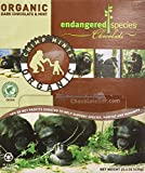 Endangered Species Chimp Mints, Organic Dark Chocolate & Mint, 0.35-Ounce Packages (Pack of 64)