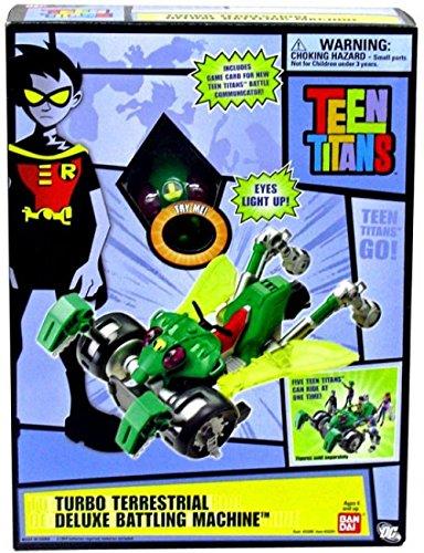 Teen Titans Deluxe Battling Machine Toy Turbo Terrestrial