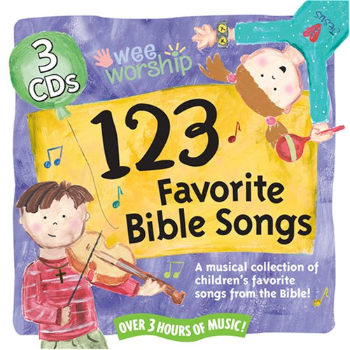 Wee Worship: 123 Favorite Bible Songs by Pacific Entertainment