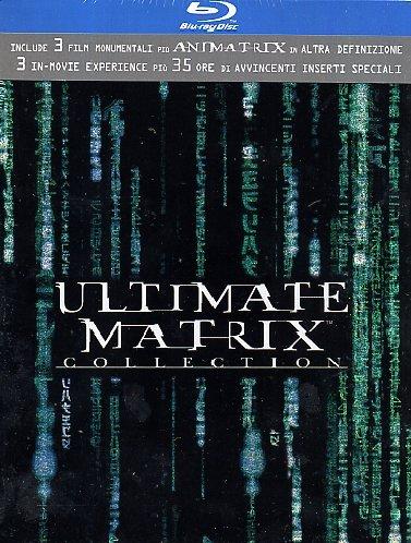 Matrix - Ultimate Collection Limited 4 Blu-Ray+3 Dvd Italia Blu-ray: Amazon.es: vari, vari, vari: Cine y Series TV