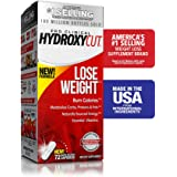 Hydroxycut Pro Clinical Weight Loss Supplements with Apple Cider Vinegar and Vitamins, Burn Calories & Get Naturally Sourced Energy, 72 Pills