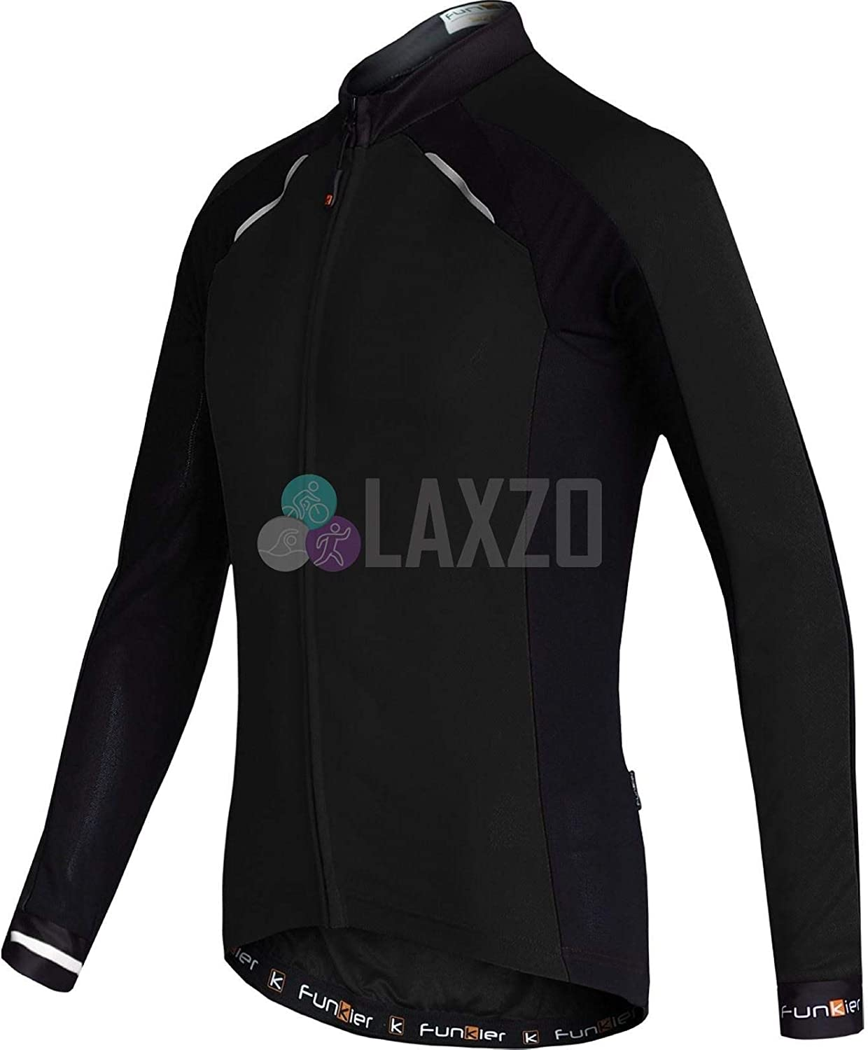Warm Microfleece Funkier Mens Talana Gents Active Long Sleeve Cycling Jersey Quickdry