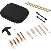 Alomejor 16pcs Kit de Nettoyage des Armes à Feu Kit de Nettoyage de Luxe pour Pistolet