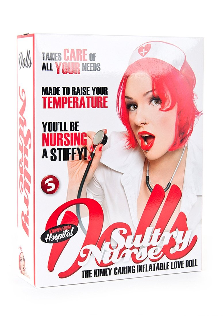 Touche-Shots Media Usa Inc Shots S Sultry Nurse Inflatable Doll by Touche-Shots Media USA, Inc
