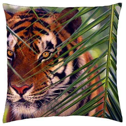 (Prowling Tiger - Throw Pillow Cover Case (18)