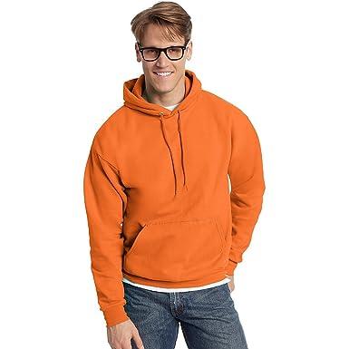 Hanes ComfortBlend EcoSmart Pullover Hoodie Sweatshirt, Safety ...