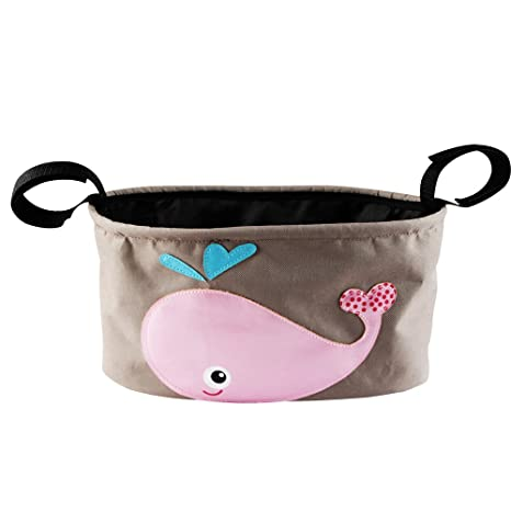 kakiblin bebé bolsa de almacenamiento cochecito, cochecito Organizador rosa rosa