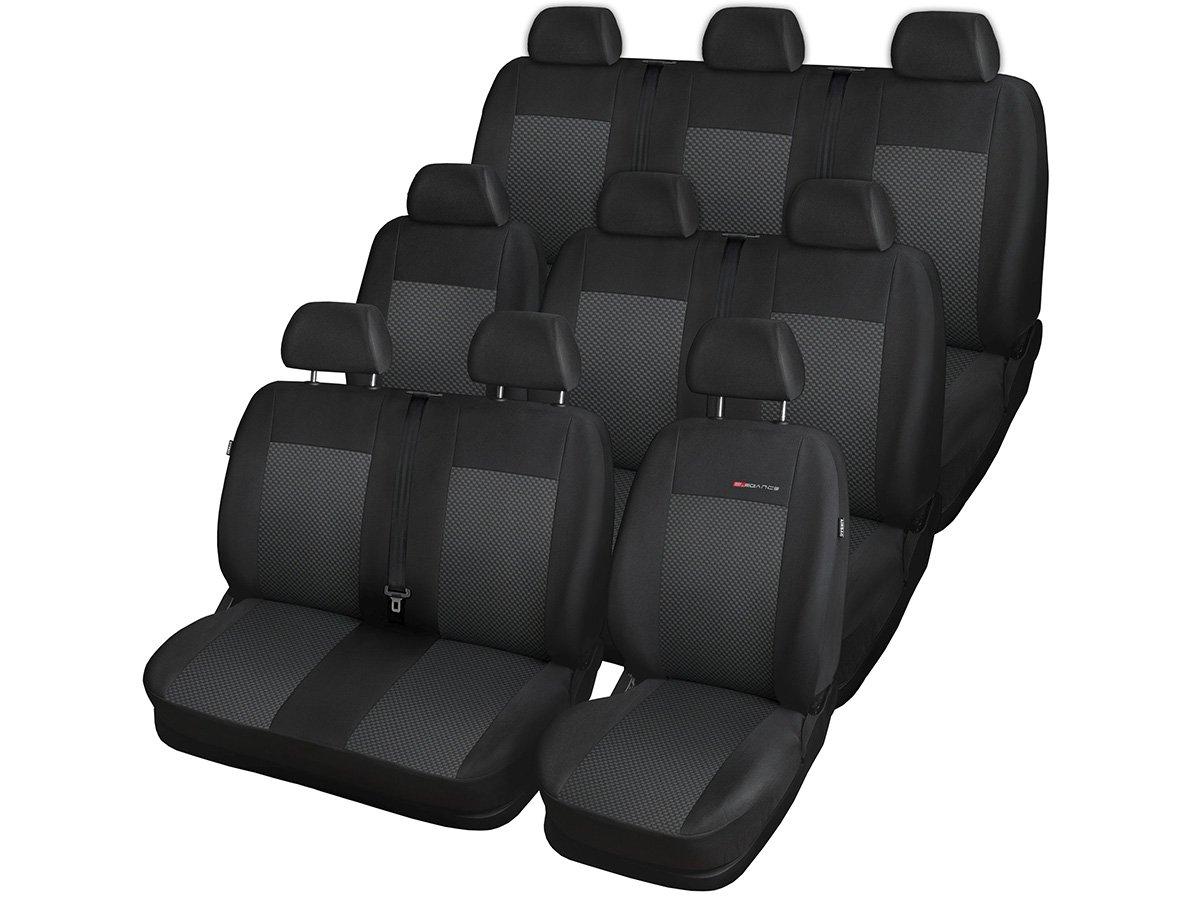 Volkswagen T6 Sitzbez/üge nach Ma/ß Autoplanen perfekte Passform Schonbez/üge Sitzschoner Velour Strickpolster /®Auto-schmuck 9p3