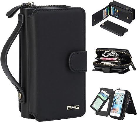 iphone 7 plus cellulare custodia a portafoglio