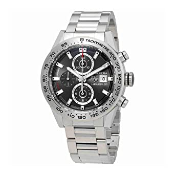 6c662008ef75 Image Unavailable. Image not available for. Color  TAG Heuer Carrera  Calibre Heuer 01 Automatic Chronograph 43 mm ...