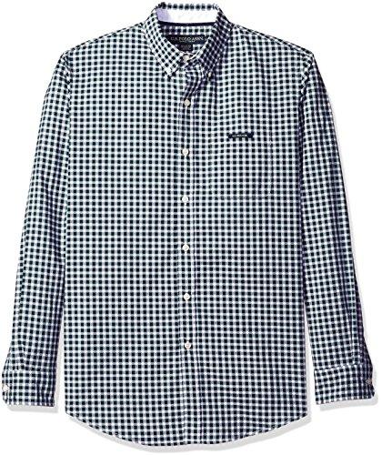 U.S. Polo Assn. Mens Long Sleeve Dobby Check Button Down Sport Shirt