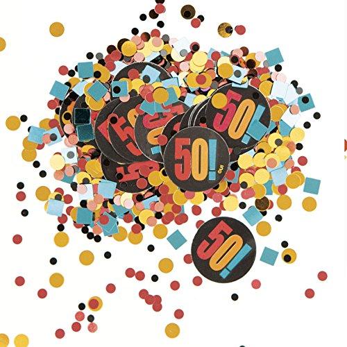 50th Birthday Confetti - 8