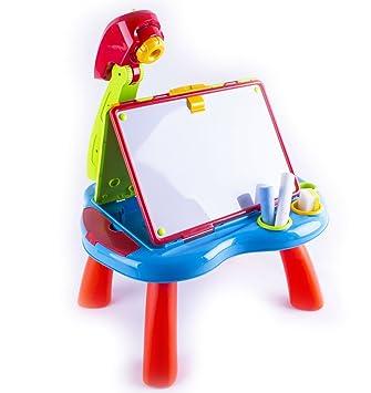 pjt) deao® proiettore con tavolo da disegno per i bambini ... - Tavolo Da Disegno Per Bambini