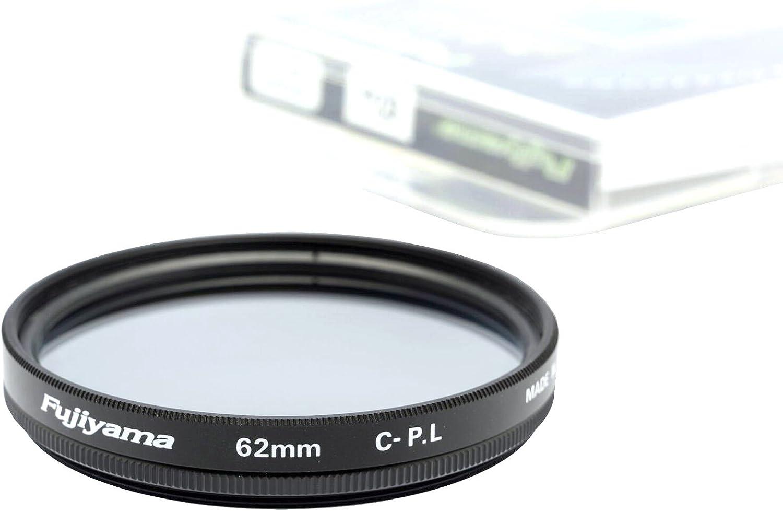 Fujiyama 62mm Circular Polarizing Filter for Panasonic Lumix DMC-FZ1000 Made in Japan