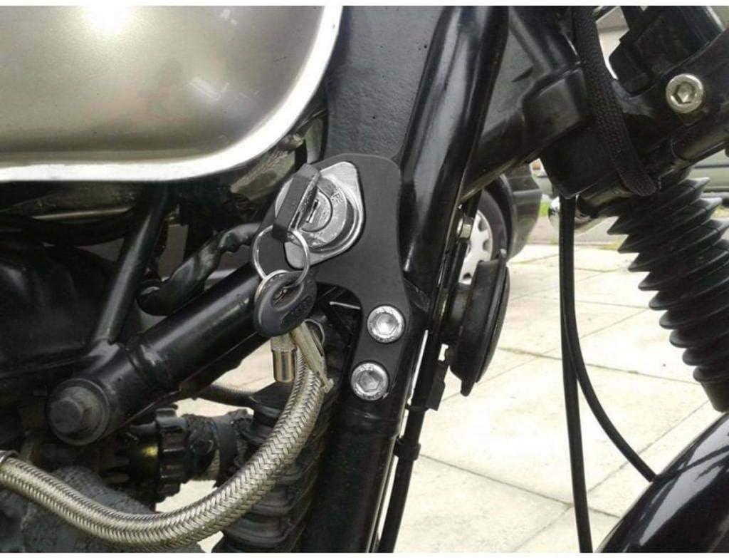 SE//Scrambler//Thruxton Soporte De Reubicaci/ón Para Triumph Bonneville T100 Adecuado Para Bicicletas CARB Y kesoto Llaves De Encendido Para Motocicleta