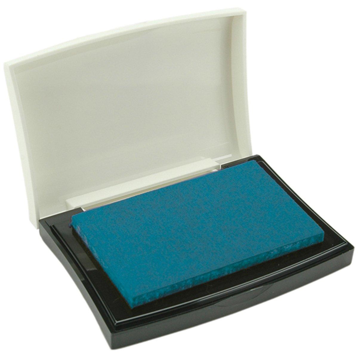Tsukineko VF000019 Full-Size VersaFine Instant Dry Pigment Ink, Deep Lagoon