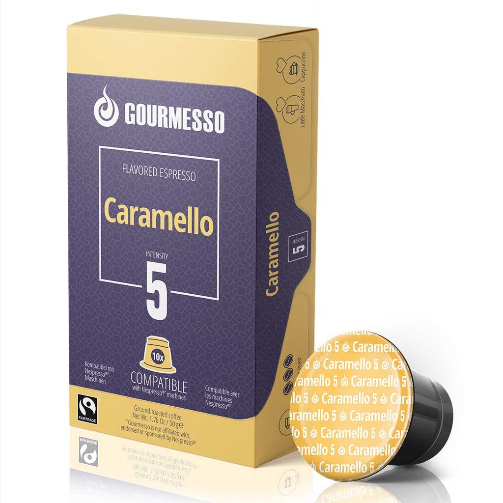 Gourmesso - cápsulas de café para cafetera Nespresso ® - 10 ...