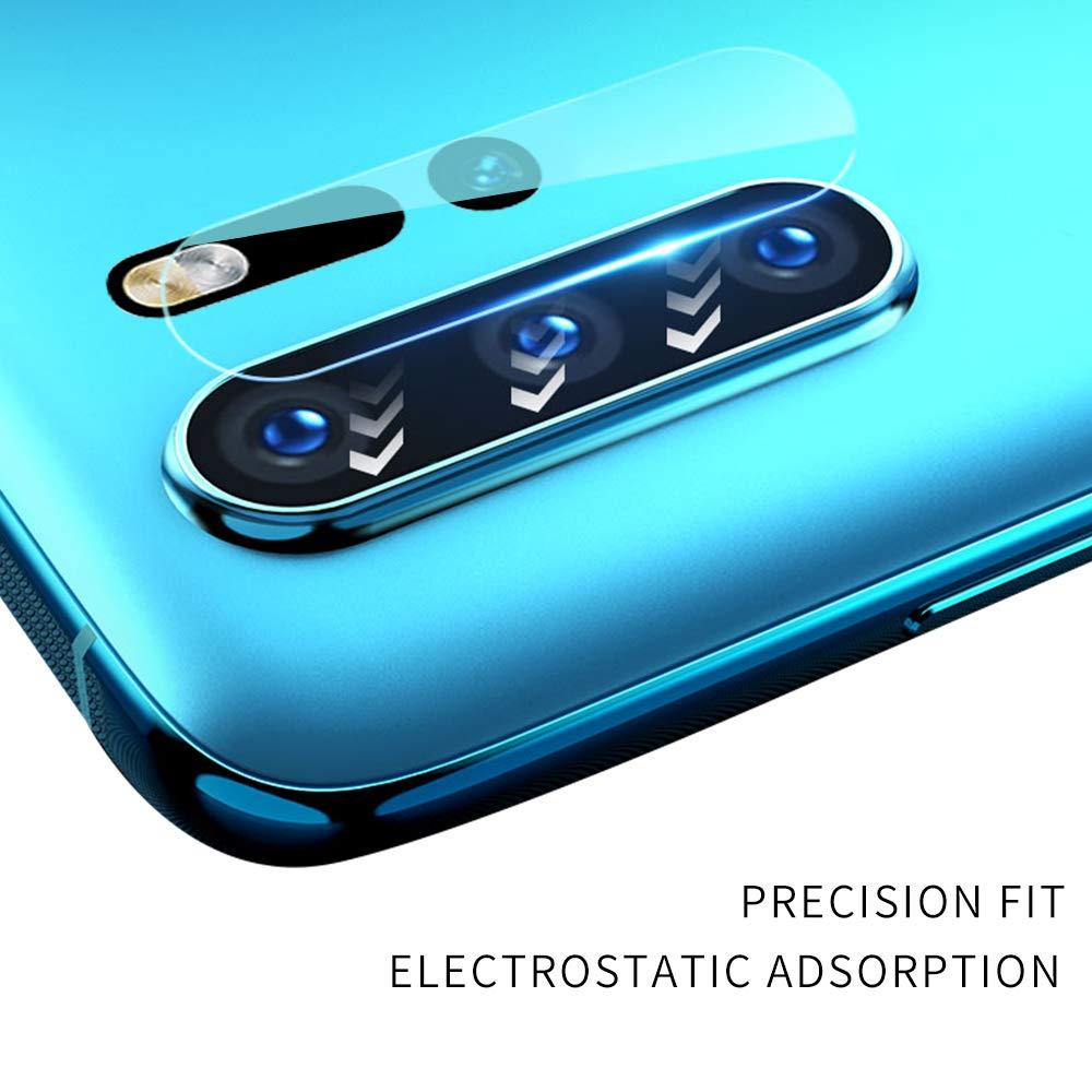 2 Pezzi Protezione per Vetro Flessibile Trasparente Alta Definizione con Bordo Rotondo 2.5D Newseego Compatibile con Huawei P30 PRO Fotocamera protettore dellobiettivo Anti-graffio - Clear