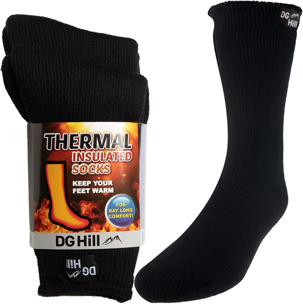 DG Hill Thick Heat-Trapping Thermal Socks