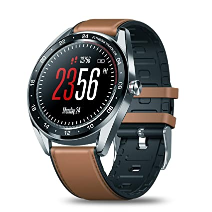 Zeblaze NEO Smart Watch,IP67 Waterproof Sport Smartwatch,1.3 Inch IPS Color Screen,Heart Rate Monitoring,Female Health Monitoring,Call ...