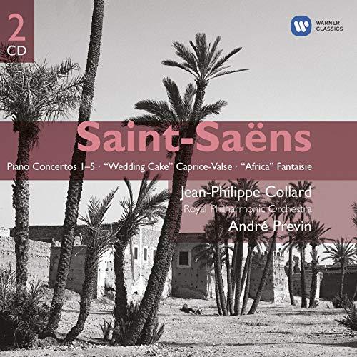 Africa Cake - Saint-Saëns: Piano Concertos 1-5 / Wedding Cake Caprice-Valse / Africa Fantaisie