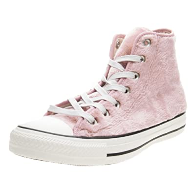 Baskets CONVERSE pelliccia rosa faux CT AS HI faux rosa fur alta pelo eb2f2b