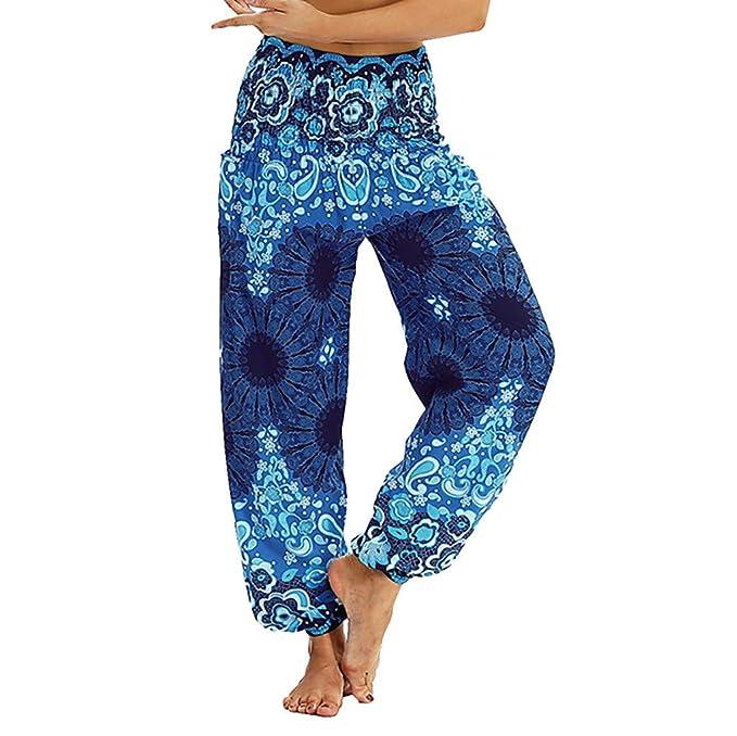 Pantalones Anchos Mujer Yoga Mosstars Hombres Mujeres ...