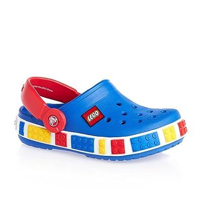 2c91535c01b Crocs Unisex Kids' Crocband Lego K Clogs blue Size: 11: Amazon.co.uk ...