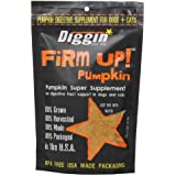 Diggin' Your Dog Firm Up Pumpkin Super Supplement for Digestive Tract Health for Dogs, 1-Ounce