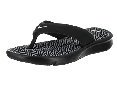 Nike Women's Ultra Comfort Thong Print (10 B(M) US, Black/