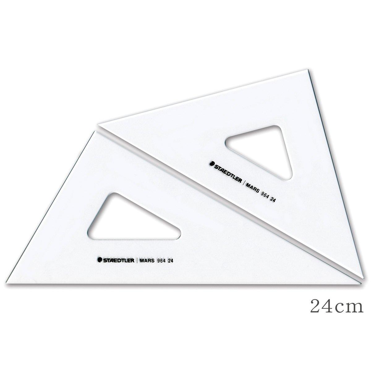 STAEDTLER Mars 964 24 triangle ruler 24CM (japan import)