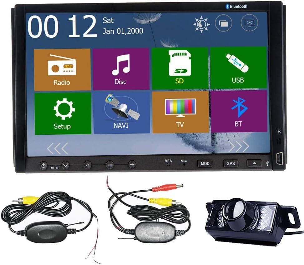 Alta Definici¨®n de Windows 8 WINCE 8,0 UI Navegador GPS 3D PIP Bluetooth cable USB 7