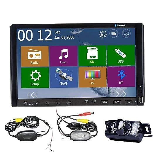 "3 opinioni per High Def Windows 8 WinCE 8.0 UI navigatore GPS 3D SEME Bluetooth cavo USB 7 ""HD"