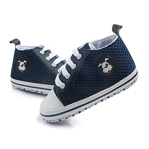 849f9f295bef Antheron Infant Shoes - Baby Boys Girls Soft Sole First Walker Toddler  Sneakers Anti-Slip