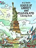 Best Dover Publications Fiction History Books - Statue of Liberty and Ellis Island Coloring Book Review