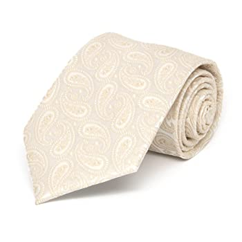 Boys' Wheat Brown Darlene Paisley Necktie