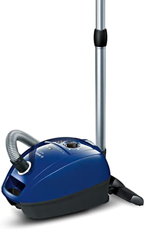 Bosch GL 30 Floor Vacuum Cleaner (EEK B with Bag, Thorough Cleaning Performance, PowerProtect System) no Hard Floor Tool 000 Blue