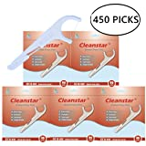 Cleanstar, 450 Count Dental Floss Picks with 2
