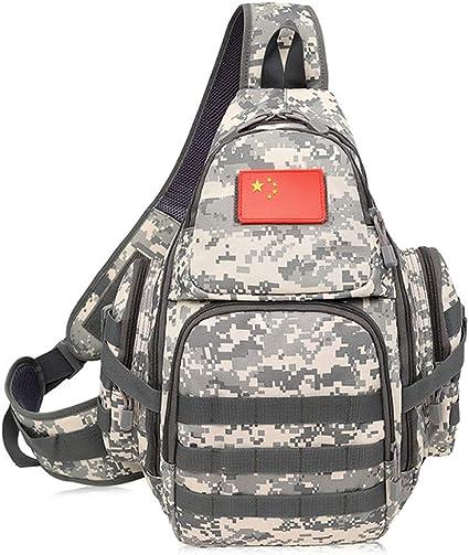 OYHN Tactical Bolsillos de Camping/Poliéster Molle Táctico Hombro Correa Bolsa Militar Push Pack Bolsa de Cinturón Viajes Mochila Cámara Bolsa de Utilidad Cintura Bum Día Pack Versipack, E: Amazon.es: Deportes y aire