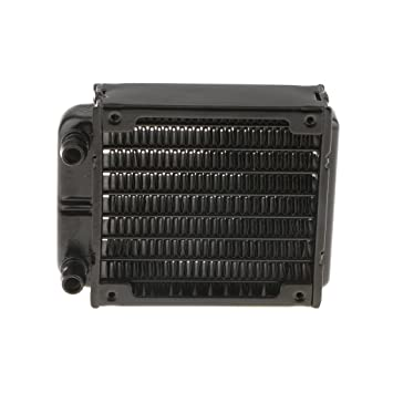 80mm Aluminum Tube Heatsink Water Cooler Computer Radiator CPU Cooling Exchanger