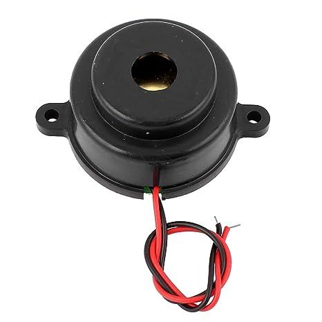 Zumbador electronico - TOOGOO(R)DC 3-12V 110 dB Alarma de pitido discontinuo Sonda zumbador electronico