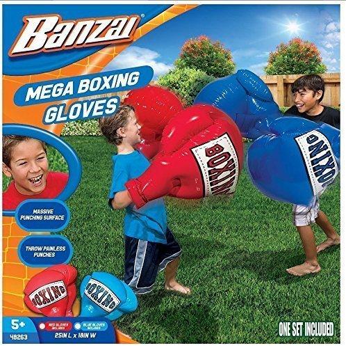 Balloon Boxing Gloves - Kids Inflatable Mega Boxing Gloves, Model:,