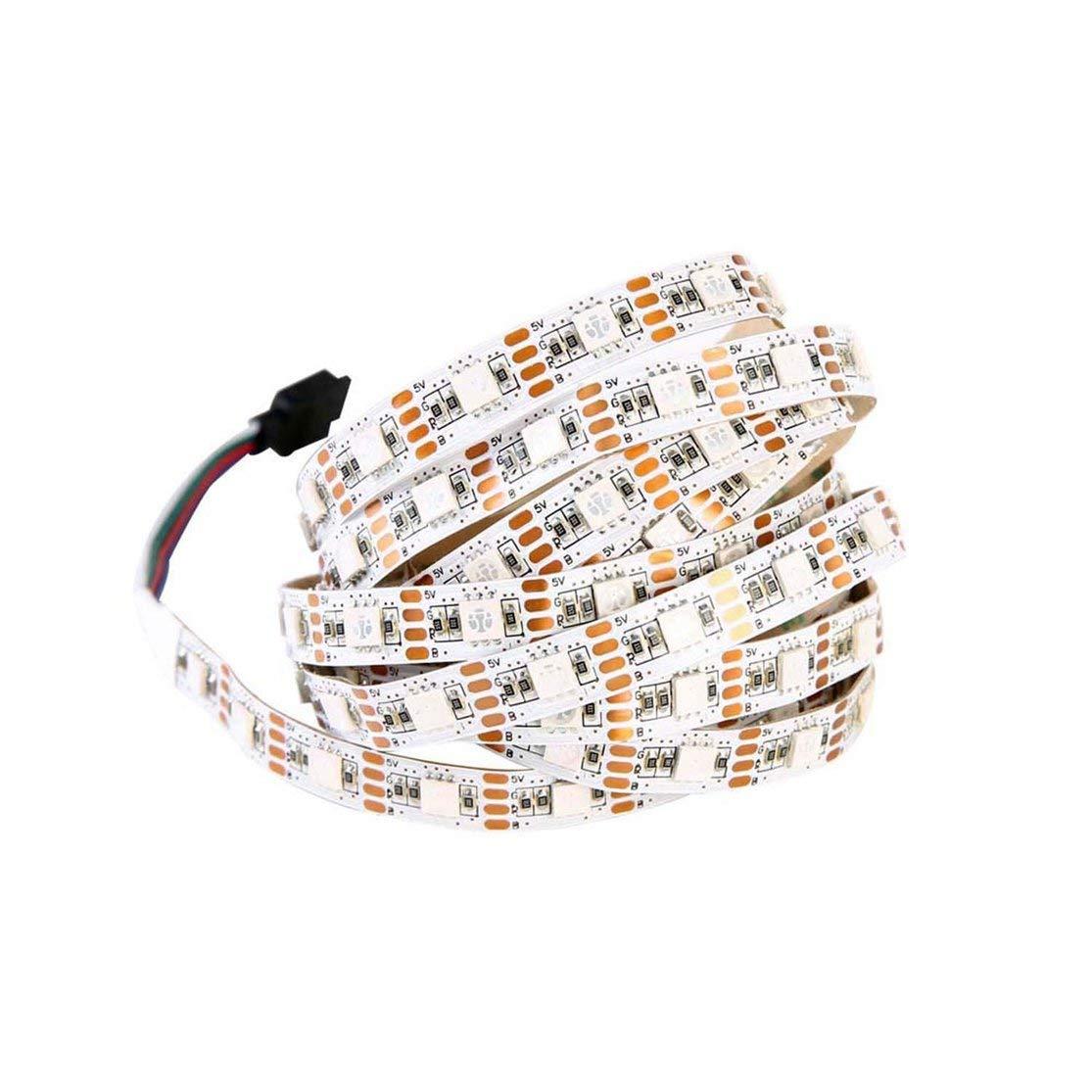 LouiseEvel215 Tira de luz LED USB 24 Colores cambiantes Cadena Cinta Cinta RGB LED TV retroiluminaci/ón con Control Remoto