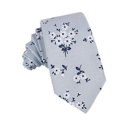Corbatas Formal Clásica para Hombre Moda para Hombre algodón ...